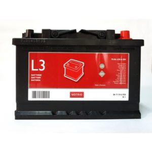 batterie L3 70 ah